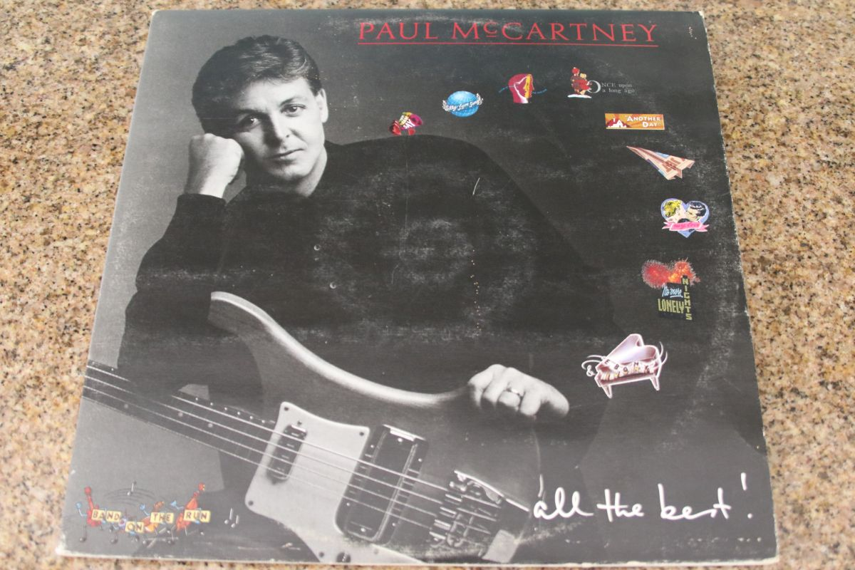 Paul McCartney All The Best VG 2LP