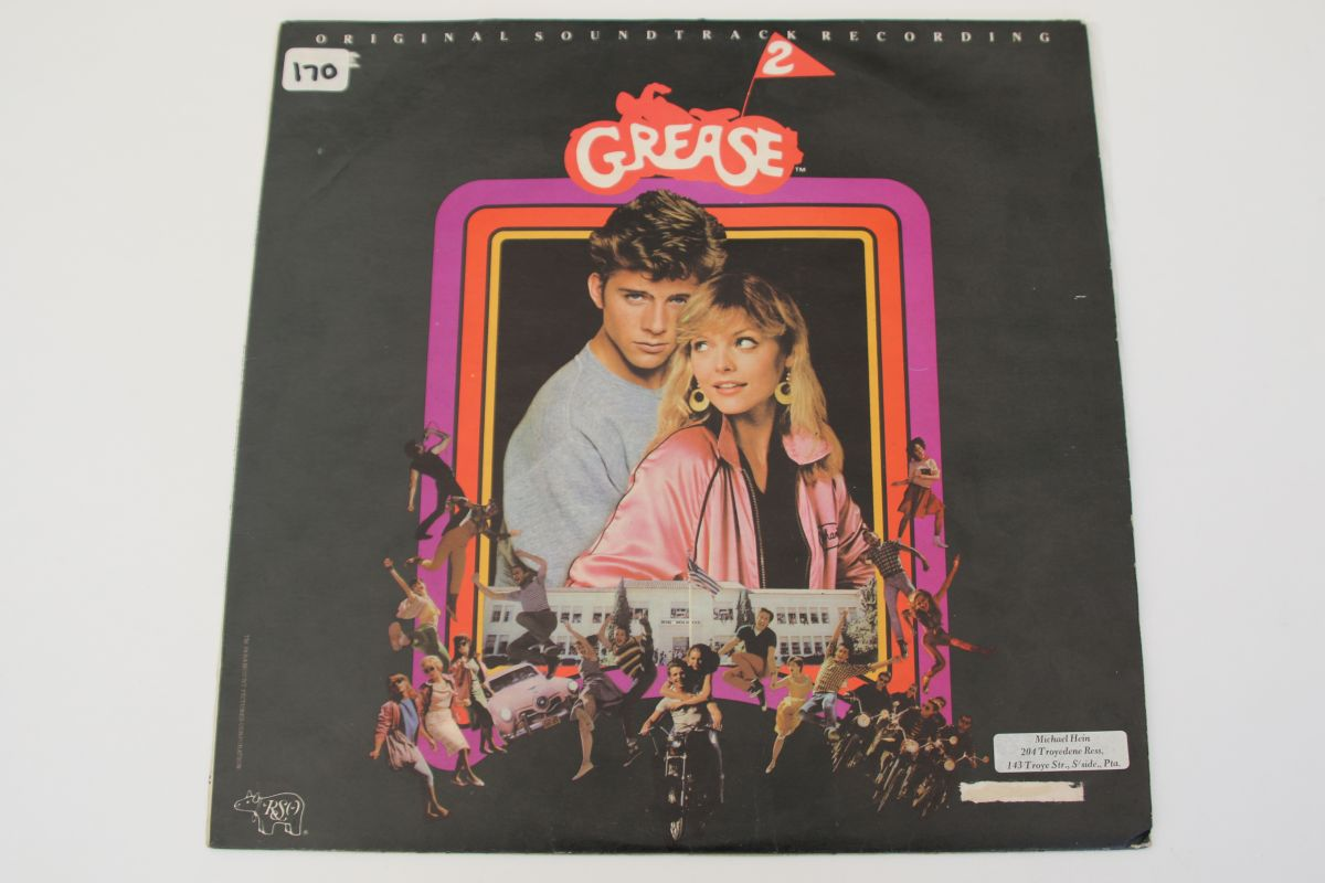 Various Grease Original Movie Soundtrack