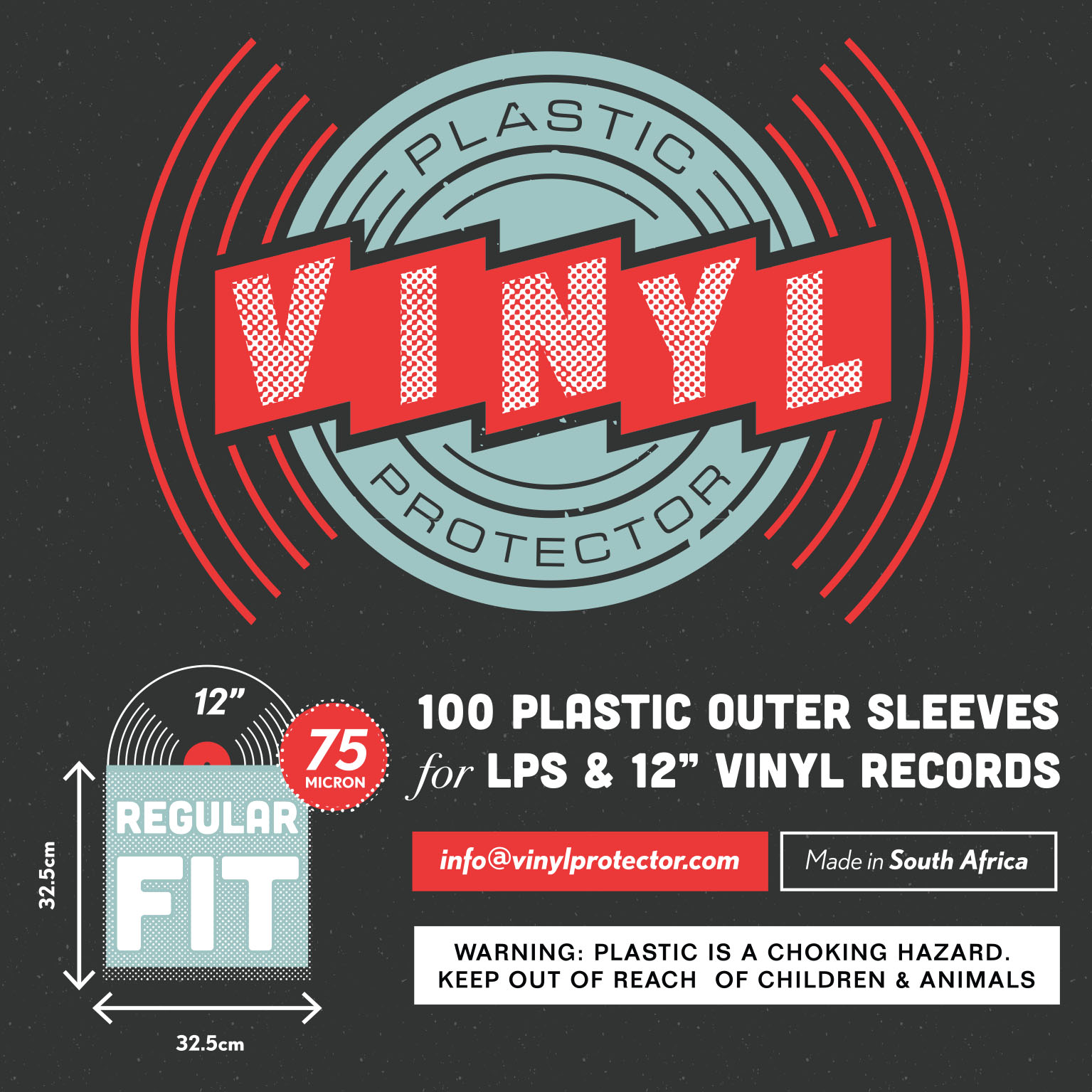 "Vinyl Protector - 12"" Plastic Outer Record Sleeves ..."