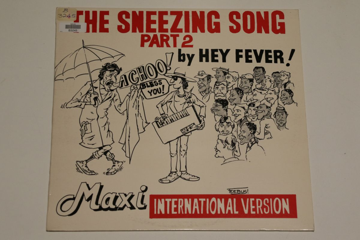 Hey Fever! - The Sneezing Song Part 2 (NM/VG)