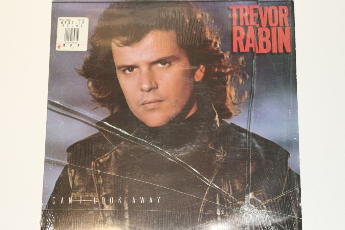 Trevor Rabin - Can't Look Away (VG+) - Mr Vinyl