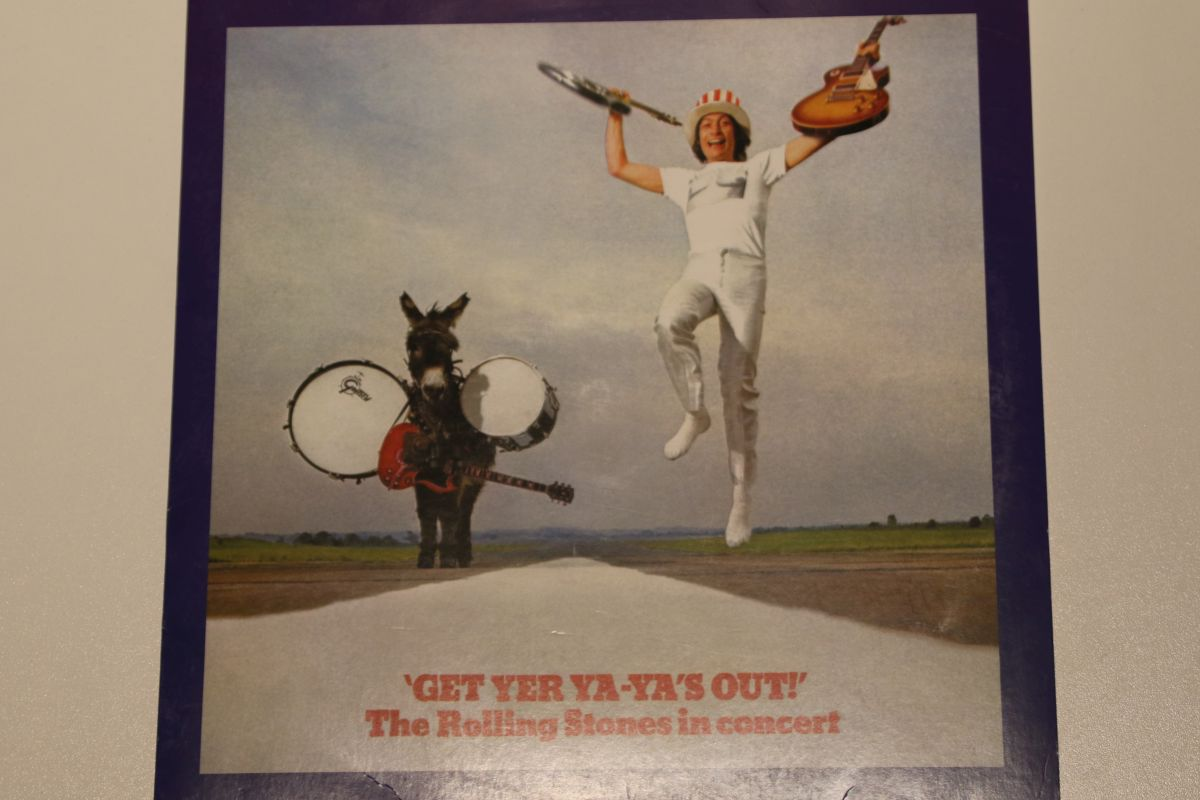 8c368504090b3 The Rolling Stones - Get Yer Ya-Ya's Out! - The Rolling Stones In Concert  (VG+)